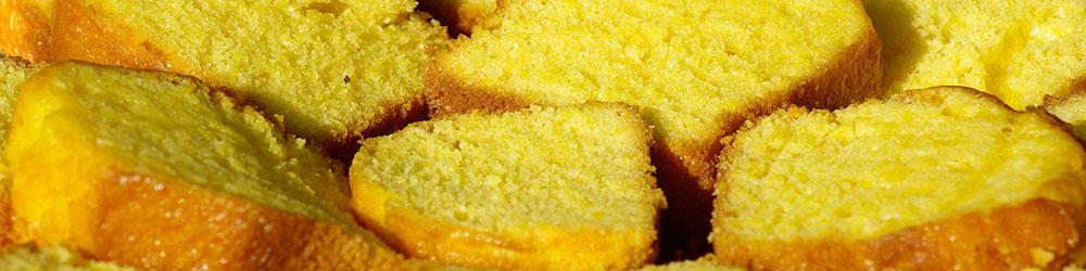 Cake aux 4 jaunes d'oeufs