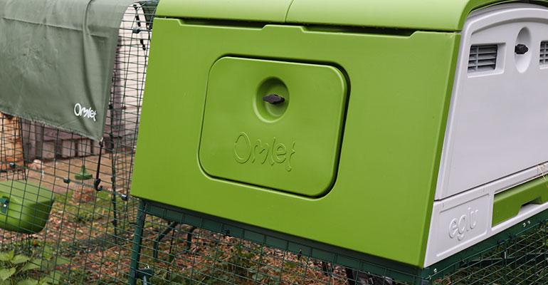 poulailler Eglu Cube Omlet esthétique